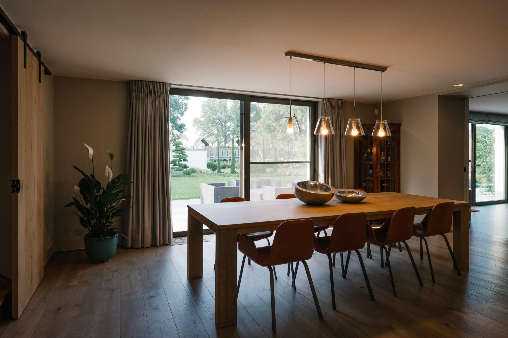 interieur en afwerking hoeve houthalen helchteren